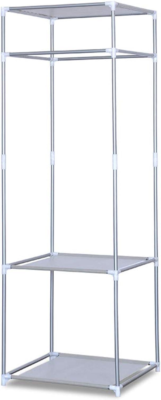 New Creative Floor Standing Fashion Clothes Storage Rack Thicken Steel Pipe Hanger Rust-Proof Floor Coat Rack Home Furniture