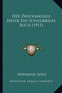 Der Zweckmassige Meyer Ein Schnurriges Buch (1911)