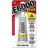 E6000 570110, Clear 0.9 Fl Oz Plus Multipurpose Adhesive-0.9oz