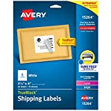 Avery Shipping Address Labels, Laser & Inkjet Printers, 60 Labels, 3-1/3x4 Labels, Permanent Adhesive (15264)