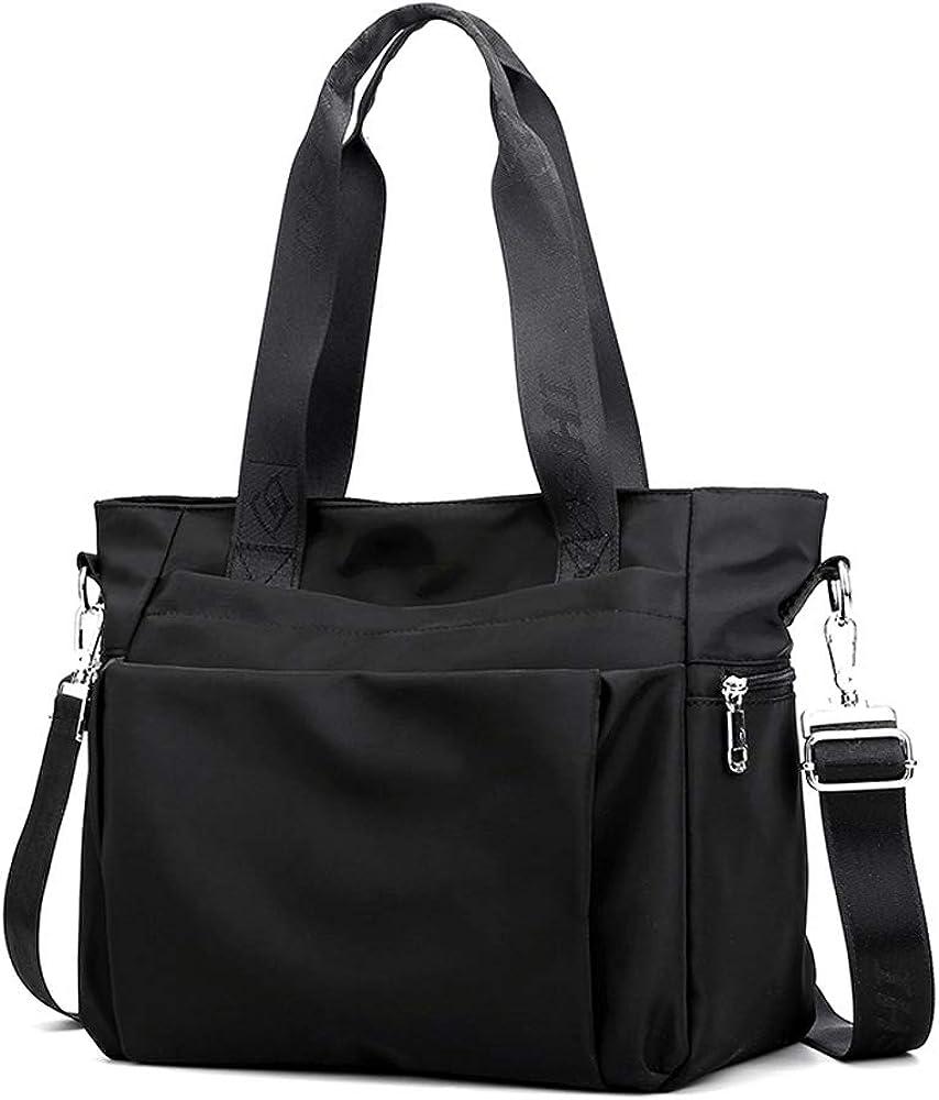 YANAIER Credence Women Nylon Tote Multi-function Bag Shoulder Waterproof 100% quality warranty!