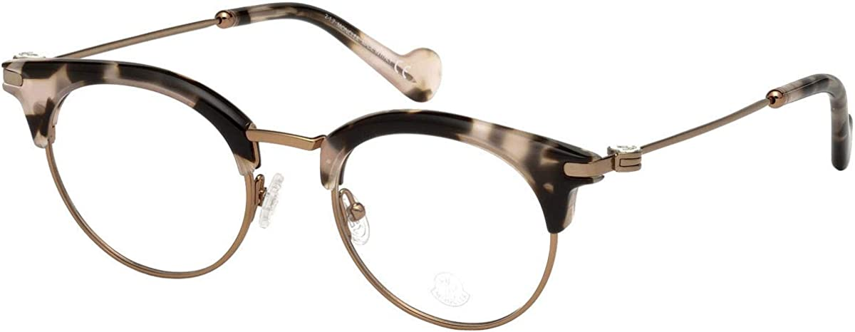 Eyeglasses Moncler ML 5020 055 Coloured Havana