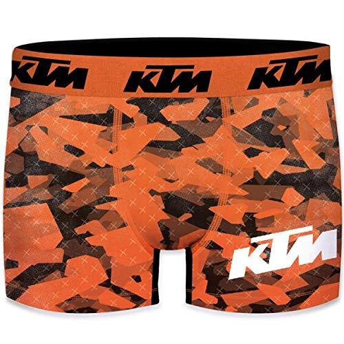 KTM Heren Boxershorts Microvezel CAM6 Oranje Zwart