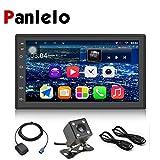 Panlelo S6CA Android 8.1 Autoradio GPS de Navigation Quad Core Auto Radio 4LED Sauvegarde Caméra de recul Lien Mains-Libres Appel 7 Pouces 2 Din Au Tableau de Bord Vidéo Musique Écran Tactile 1080P