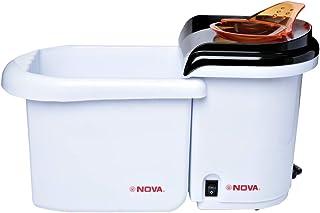 Nova 1200 Watts Popcorn Maker With Bowl, White - Npc1213sb