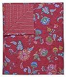 Pip Studio Tagesdecke Jambo Flower Farbe Rot Größe 270x260cm