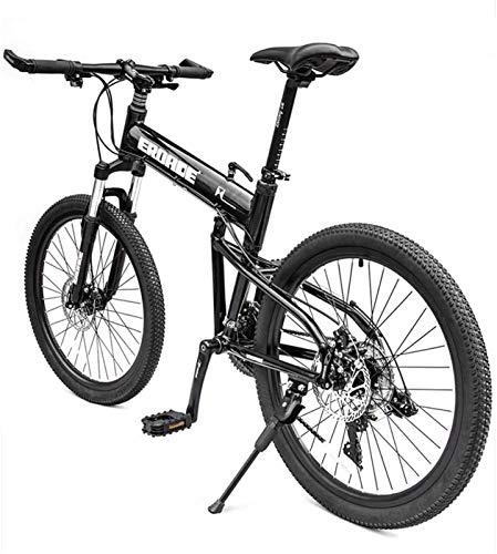 Bicicletta durevole di alta qualità, Mountain Bikes, Bicicletta di montagna, 26 'Pieghevole mountain bike 21/24/27/30 ruota anteriore sospensione mountain bike for adulti doppio disco freno velocità f