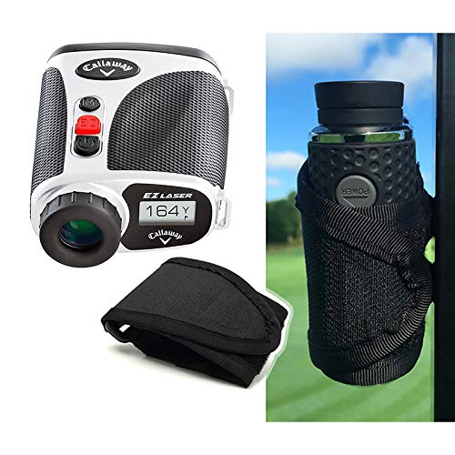 Best Price Callaway EZ Scan Golf Laser Rangefinder Cart Mount Bundle | Includes PlayBetter Magnetic ...