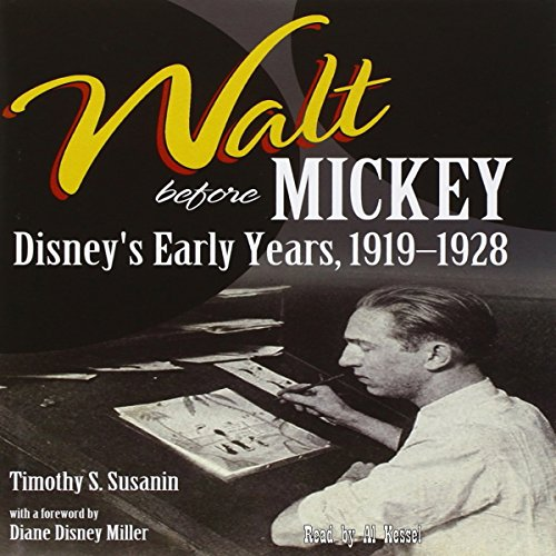 Walt Before Mickey audiobook cover art