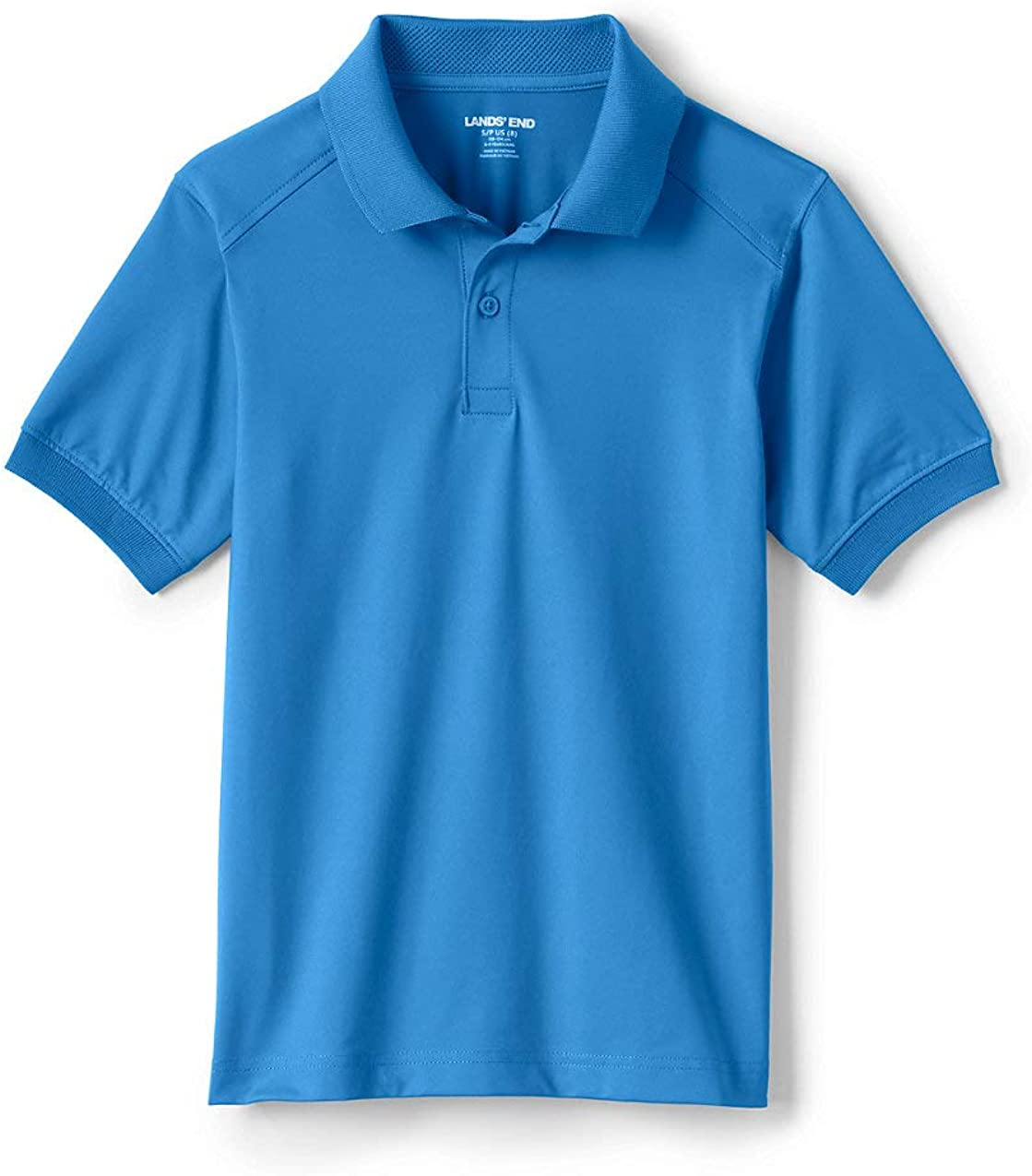 Lands' End School Uniform Kids Short Sleeve Rapid Dry Polo Shirt
