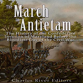The March to Antietam audiobook cover art