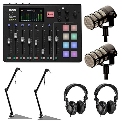 Rodecaster Pro 2 Person Podcast Kit