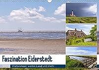 Faszination Eiderstedt (Wandkalender 2022 DIN A3 quer): Wattenmeer, weites Land und mehr... (Monatskalender, 14 Seiten )