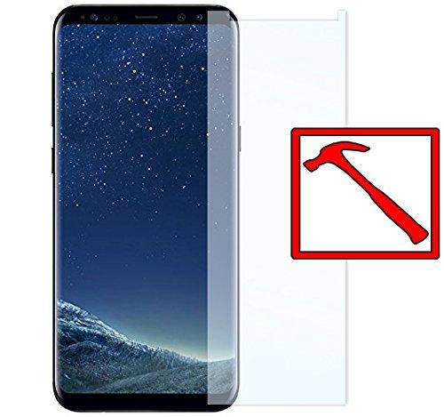 Slabo Premium Panzerglasfolie für Samsung Galaxy S8 (SM-G950) Panzerfolie Schutzfolie Echtglas Folie Tempered Glass KLAR 9H Hartglas