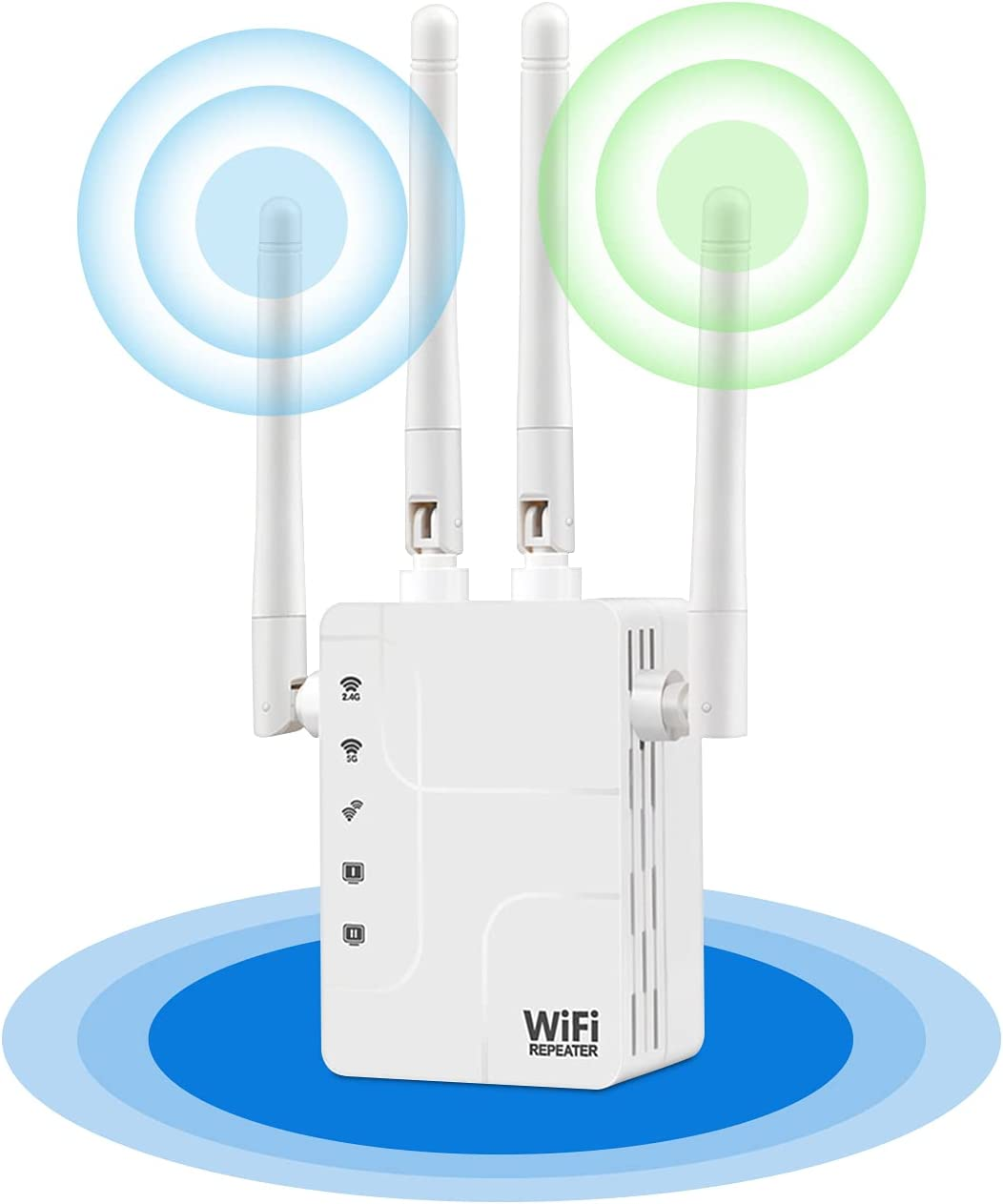 low-pricing WiFi Extender - 1200Mbps Internet Coverage Booster 3 Up to Ranking TOP6