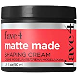 fave4 hair Matte Made Shaping Cream for Men, Lightweight Pomade Finish for Styling, 1.7 fl oz