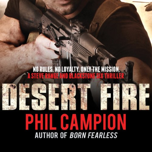 Desert Fire audiobook cover art