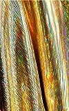 Meterware als Dekostoff- Steife Bunte Champagner Goldene