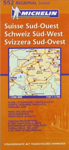 Schweiz Süd-West (MICHELIN Regionalkarten)