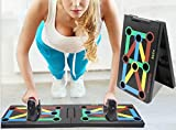 Surplex 9 in 1 Push Up Rack Board Fitness Gear Power Press Push up Staffa System Workout Training...