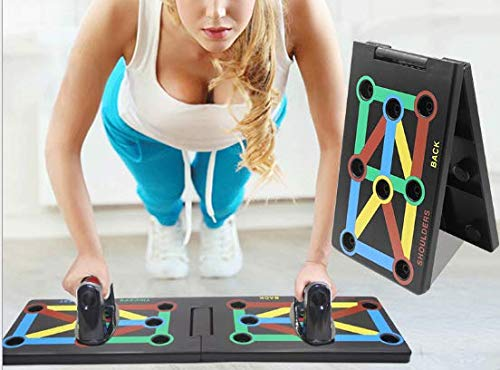 Surplex 9 1 Push Up Rack Board System Plegable Push