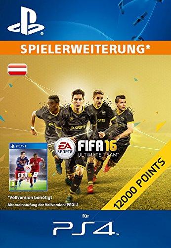 12000 FIFA 16 Ultimate Team Points [Zusatzinhalt][PS4 PSN Code - österreichisches Konto]