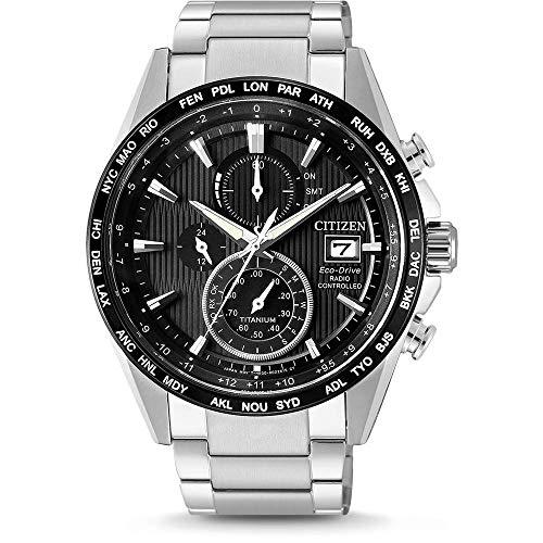 Reloj Citizen modelo H800, súper titanio - controlado por r