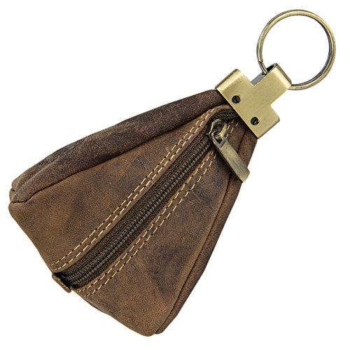Greenburry Vintage 1827-25 Leder Schlüsseletui Schlüsseltasche Schlüssel Etui Schlüsselbeutel