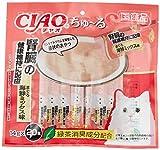 チャオ ちゅ〜る 腎臓の健康維持に配慮 まぐろ 海鮮ミックス味 14gx20本