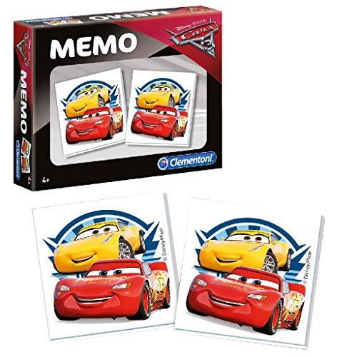 Clementoni 13279.9 Disney Memo kompakt Cars 3 Spiel