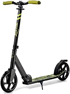 Lascoota Scooters for Kids 8 Years and up - Quick-Release Folding System - Front Suspension System + Scooter Shoulder Stra...