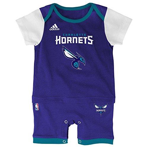 NBA Charlotte Hornets Infant 'Fan Jersey' Jersey Romper, Purple, 12 Months