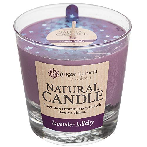 Ginger Lily Farm's Botanicals 308895 Natural Candle Lullaby (Lavender and Vanilla)