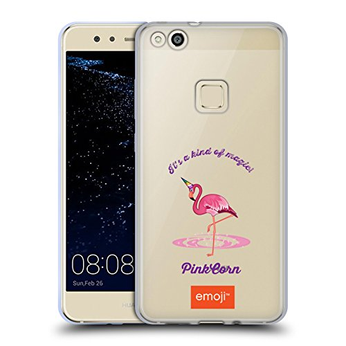 Head Case Designs Oficial Emoji Flamenco Sé un Unicornio Carcasa de Gel de Silicona Compatible con Huawei P10 Lite