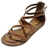 Ollio Women's Shoe Gladiator S...