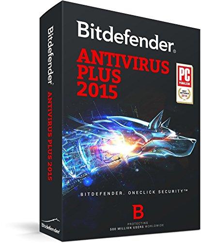 Bitdefender Antivirus Plus 2015 - 1 year - 1 user [import anglais]