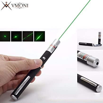 Vmoni Green Laser Light pen with Starry Pointer of 532nm & <500MW