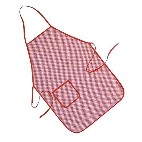 Rayen 6101 Tablier, Cotton, Rouge, 40 cm