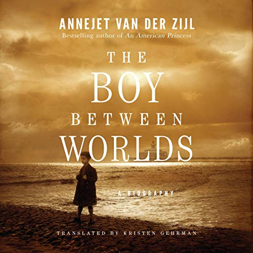 The Boy Between Worlds audiobook cover art