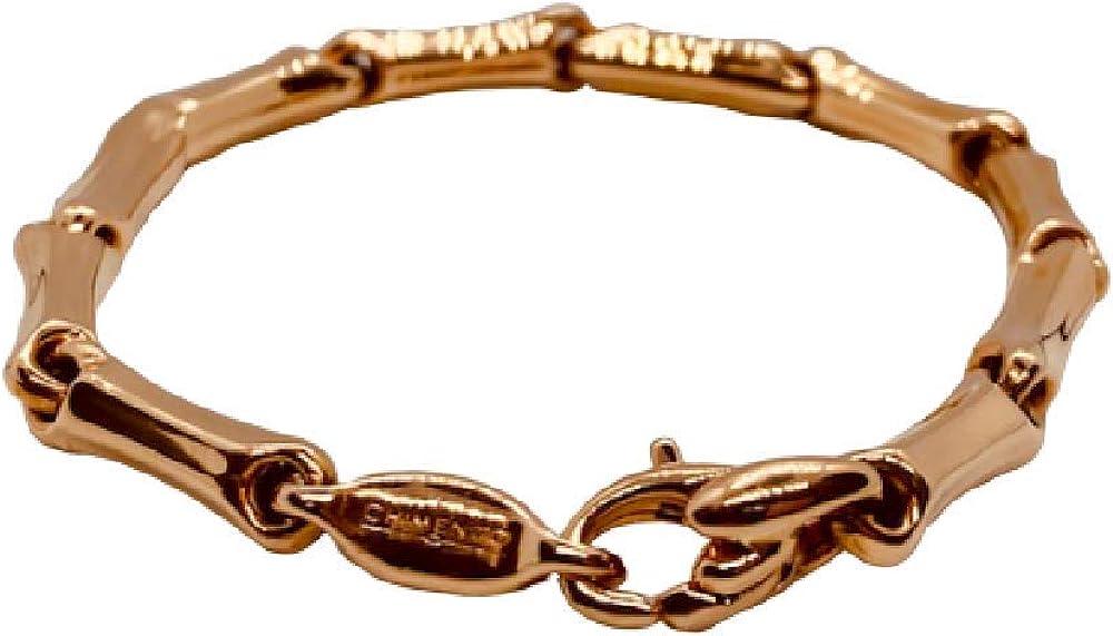 Chimento,bracciale unisex in oro rosa 18 k(8,9gr) 1B00406ZZ6190