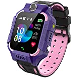 PTHTECHUS Learning Smartwatch Educational Toys, Instead Phone HD Color Touchscreen SOS Call MP3 MP4 Games Timer Fun Filter Cameras Pedometer Sports Digital Watch for 4-12 Years Kids