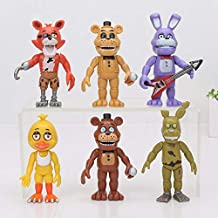 TIKIDA 6Pcs/Set Figure Sister Location Funtime Dy Bear Ballora Ennard Springtrap Action Figure U Must Have 5 Year Old Girl Gifts Girl S Favourite Superhero Mini Unboxing