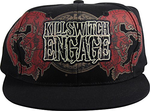 Killswitch Engage - Casquette de baseball pour Dragon Crest In Black, O/S, Black