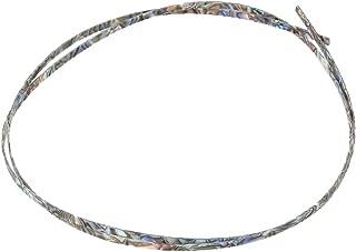 6mm Celluloid Bindings Purfling Strips for Folk Acoustic Guitar Abalone shell