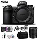 Nikon Z 7 Mirrorless Digital Camera (Body Only) - Bundle with Sony 32 GB Memory Card + Spare Battery and More - International Version