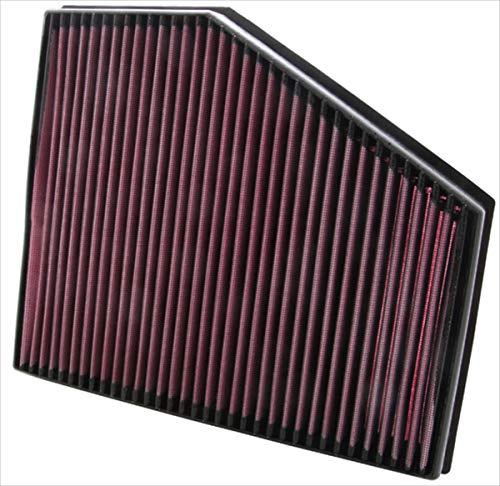 K&N 33-2943 Motorluftfilter: Hochleistung, Prämie, Abwaschbar, Ersatzfilter, Erhöhte Leistung, 2004-2011 (635d, 520d, 535d)