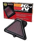 K&N Engine Air Filter: High Performance, Premium, Powersport Air Filter: Fits 2011-2015 KAWASAKI (ZX1000 Ninja ZX-10R, 30th Anniversary, ABS, ABS 30th Anniversary) KA-1011