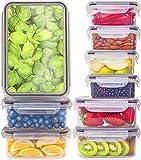 Contenedores de plástico con tapa Fullstar