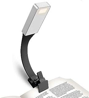 LRIFUE 书灯 读书灯 夹子 4LED 4档调光 360°可旋转 折叠 USB充电 自然光 呵护眼睛 Kindle/PC/工作/卧室/桌面/谱台/床/停电/防灾用