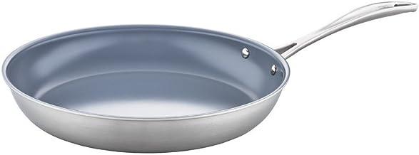 ZWILLING 64010-301 Spirit Ceramic Nonstick Fry Pan, 12-inch, Stainless Steel